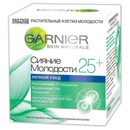 Крем для лица Garnier Сияние Молодости 50 мл ночной C4929600 крем для лица garnier активный лифтинг 50 мл ночной