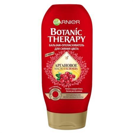 Бальзам Garnier Botanic Therapy - Клюква и аргановое масло 200 мл C5640000 garnier botanic therapy масло камелия и аргановое масло 150мл