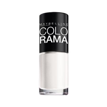 MAYBELLINE Лак для ногтей Colorama тон 51 Белый снег maybelline new york лак для ногтей colorama оттенок 440 вуаль 7 мл