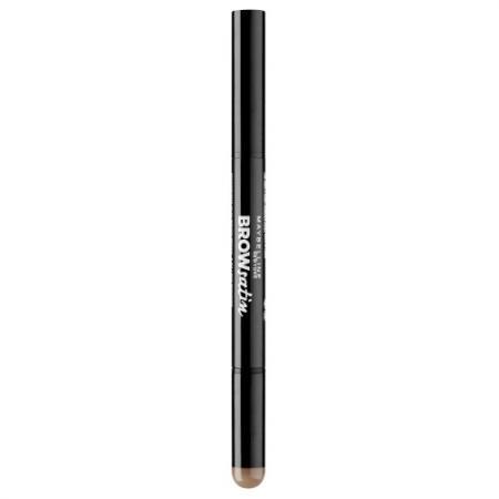 MAYBELLINE Карандаш для бровей Brow Satin тон 02 коричневый карандаш для бровей maybelline new york brow satin duo 02 цвет 02 brown variant hex name 924900