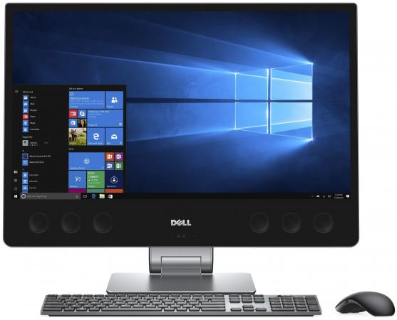 Моноблок 27 DELL Precision 5720 3840 x 2160 Intel Core i7-7700 16Gb 1Tb + 256 SSD AMD Radeon Pro WX 7100 8192 Мб Windows 10 Professional черный 5720-4730 моноблок 27 dell xps 7760 3840 x 2160 multi touch intel core i7 7700 16gb ssd 512 radeon rx 570 8192 мб windows 10 home серебристый черный 7760 2223