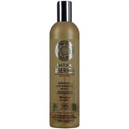 Бальзам NATURA SIBERICA Объем и баланс 400 мл natura siberica шампунь для жирных волос объем и баланс 400 мл