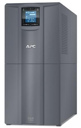 ИБП APC Smart-UPS C SMC3000I-RS 2100Вт 3000ВА черный ибп apc smart ups c smc3000i