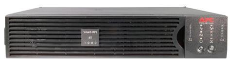 цена на ИБП APC Smart-UPS RT SURT1000RMXLI-NC 700Вт 1000ВА черный