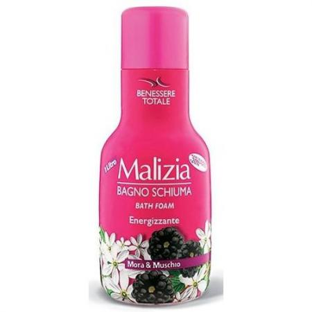 Malizia Пена для душа и ванны мускус и ежевика MORA & MUSCHIO 1000 мл от Just.ru