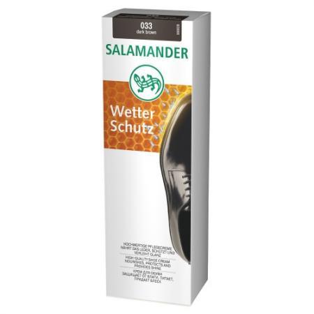 Крем для обуви SALAMANDER Wetter Schutz 75 мл 665675 salamander лосьон для кожи express polish salamander черный 75 мл