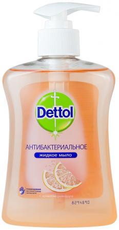 Мыло жидкое DETTOL 3045876 250 мл dettol антибакт жидк мыло для рук с экстрактом грейпфрута 250 мл
