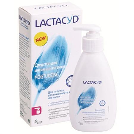 ЛАКТАЦИД Ежедневное средство для интимной гигиены Увлажняющее 200мл трусы emy form 2014 eb1672 eb1673 eb1715 e16731