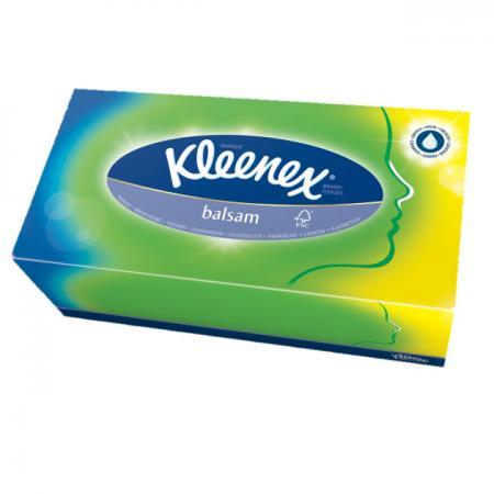 Салфетки Kleenex Balsam 80 шт гипоаллергенные 3-ех слойная 3396160 от Just.ru