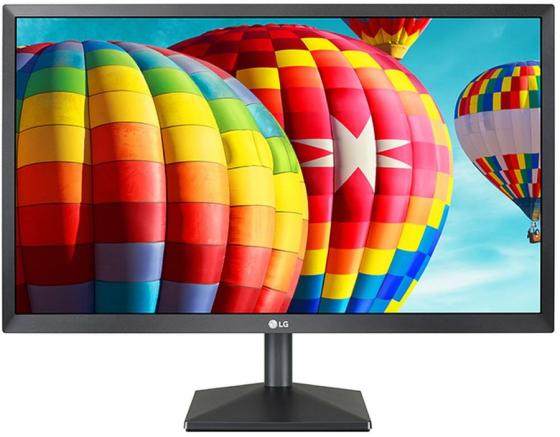 Монитор 23.8 LG 24MK430H черный IPS 1920x1080 250 cd/m^2 5 ms HDMI VGA Аудио 24MK430H-B.ARUZ монитор 27 lg 27mp68hm p черный ah ips 1920x1080 250 cd m^2 5 ms hdmi vga аудио