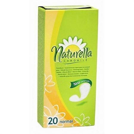 NATURELLA Женские гигиенические прокладки на каждый день Camomile Normal Deo Single 20шт