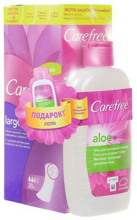 Салфетки Carefree plus Large Fresh 20 шт ароматизированная 90778 от Just.ru
