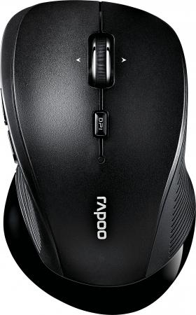 Мышь беспроводная Rapoo 3910 чёрный USB 16989 беспроводная мышь rapoo