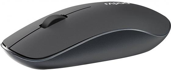 Мышь беспроводная Rapoo 3510 серый USB 16978 мышь rapoo n3200 серый