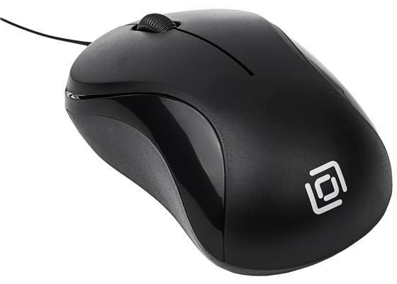 лучшая цена Мышь проводная Oklick 115SR чёрный USB