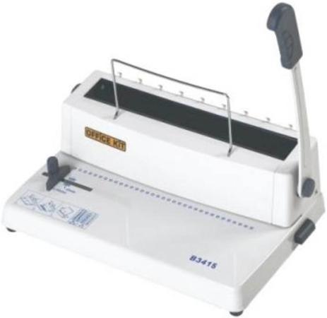 купить Переплетчик Office Kit B3415 A4 перфорирует 15 листов сшивает 120 листов металлические пружины 5.5-14.5мм дешево