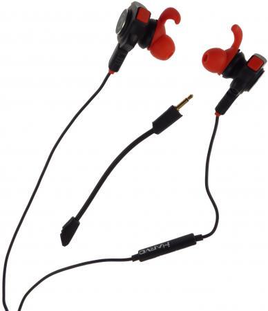 Игровая гарнитура проводная Marvo GP-001 черный игровая гарнитура проводная marvo h8312 bk rd красный черный