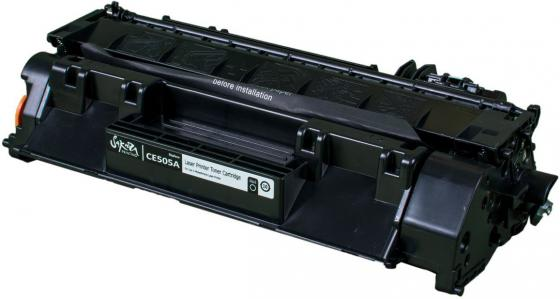 Картридж Sakura SACE505A для HP Laserjet 400M/401DN P2035/P205/LJ M425 черный 2300стр картридж hp 33a cf233a для hp lj pro m106 m134 черный 2300стр