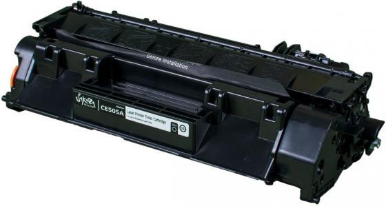 Картридж Sakura SACE505A для HP Laserjet 400M/401DN P2035/P205/LJ M425 черный 2300стр new paper delivery tray assembly output paper tray rm1 6903 000 for hp laserjet hp 1102 1106 p1102 p1102w p1102s printer