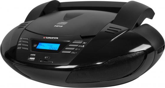 Магнитола Varta V-CDR302US черный автомобильная магнитола с dvd монитор varta v avm700