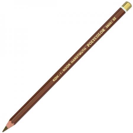 Карандаш цветной Koh-i-Noor POLYCOLOR, натуральная охра 175 мм 3800/32 карандаш художественный polycolor светлая охра