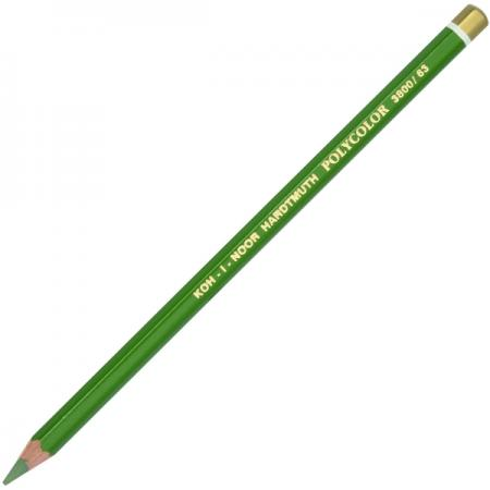 Карандаш цветной Koh-i-Noor POLYCOLOR, светло-зеленый 175 мм 3800/63 цена и фото