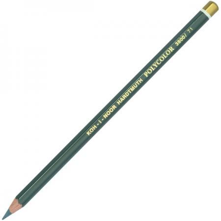 Карандаш цветной Koh-i-Noor POLYCOLOR, средне-серый 175 мм 3800/71 цена и фото