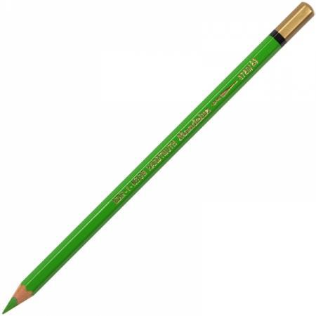 Карандаш цветной Koh-i-Noor MONDELUZ, весенне-зеленый 175 мм акварельные 3720/23 цена и фото