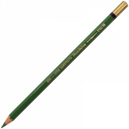 Карандаш цветной Koh-i-Noor MONDELUZ, зеленый 175 мм акварельные 3720/25 цена и фото