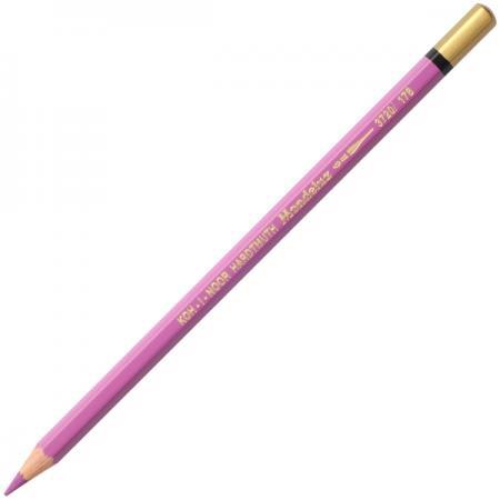 Карандаш цветной Koh-i-Noor MONDELUZ, красно-фиолетовый 175 мм акварельные 3720/178 все цены