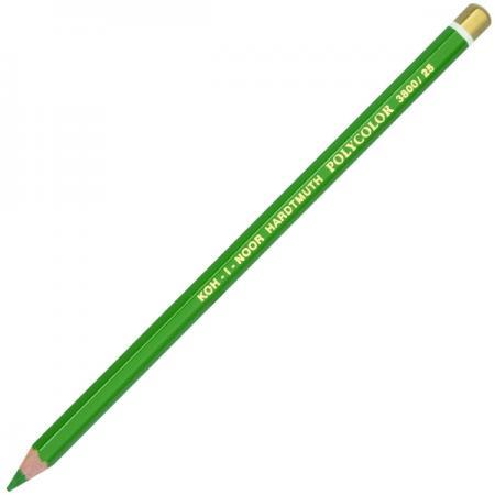 Карандаш художественный POLYCOLOR, зеленый lyra rembrandt polycolor light orange художественный карандаш