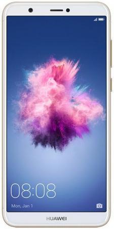 """Смартфон Huawei P smart золотистый 5.65"""" 32 Гб NFC LTE Wi-Fi GPS 3G 51092DPM цена и фото"""