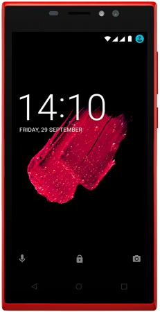 Смартфон Prestigio Muze C7 LTE красный 5 8 Гб LTE Wi-Fi GPS 3G смартфон micromax q397 champagne 5 5 8 гб wi fi gps 3g