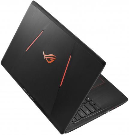 """Ноутбук ASUS GL553VD-DM203T 15.6"""" 1920x1080 Intel Core i5-7300HQ 1 Tb 8Gb nVidia GeForce GTX 1050 2048 Мб черный Windows 10 Home 90NB0DW3-M09690"""