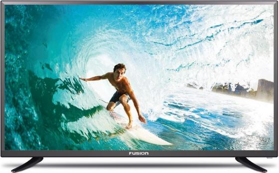 Телевизор LED 32 FUSION FLTV-32B100T черный 1366x768 USB SCART VGA телевизор led 24 fusion fltv 24a100t черный 1366x768 usb hdmi ci slot vga разьем для наушников