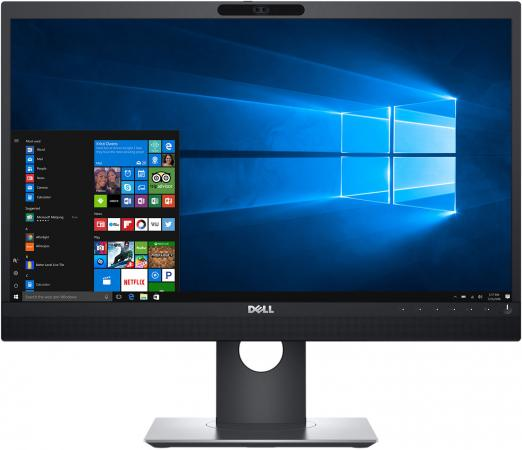 Монитор 23.8 DELL P2418HZm черный IPS 1920x1080 250 cd/m^2 6 ms HDMI DisplayPort VGA Аудио USB монитор 86 dell c8618qt черный ips 3840x2160 400 cd m^2 8 ms hdmi displayport vga аудио usb lan