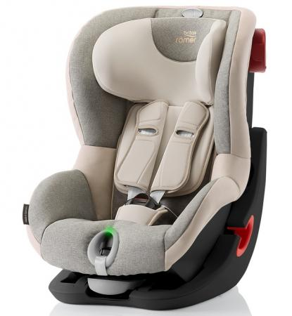 Автокресло Britax Romer King II LS Black Series (sand marble highline) romer romer king ii ls green marbl highline