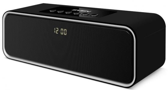 Портативная акустика Sven PS-175 10Вт Bluetooth черный портативная акустика sven ps 190 10вт bluetooth черный серебристый