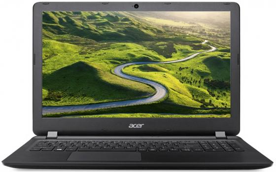 Ноутбук Acer Aspire ES 15 ES1-533 15.6 1366x768 Intel Pentium-N4200 500 Gb 4Gb Intel HD Graphics 505 черный Linux NX.GFTER.058 ноутбук dell vostro 3558 15 6 1366x768 intel pentium 3825u 500 gb 4gb intel hd graphics черный linux 3558 4483