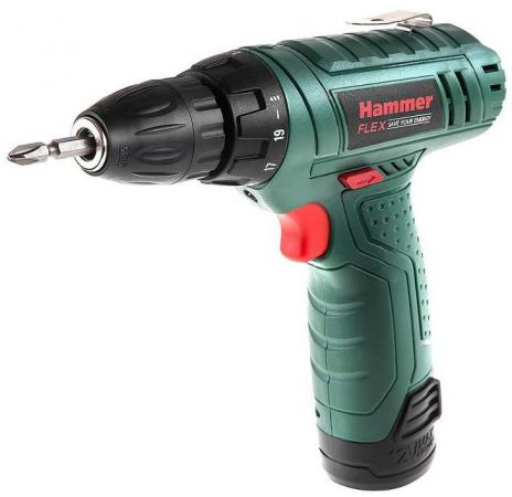 Аккумуляторная дрель-шуруповерт Hammer ACD12LE hammer acd120c premium аккумуляторная дрель