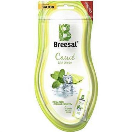 Саше для обуви BREESAL Природная свежесть свежий 20 гр BSACSH0203 саше д обуви breesal природная свежесть