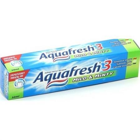 Зубная паста Aquafresh 3 Мягко-мятная 100 мл PNS7094600 pui hing 350mg 30 3