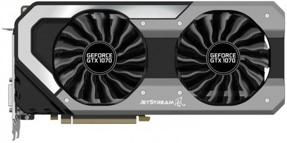 Видеокарта Palit GeForce GTX 1070 Ti Super JetStream PCI-E 8192Mb 256 Bit Retail computer pc vga cooler fans graphics card fan for palit gtx 770 video card cooling