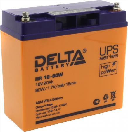 Батарея Delta HR 12-80W 20Ач 12B цена и фото