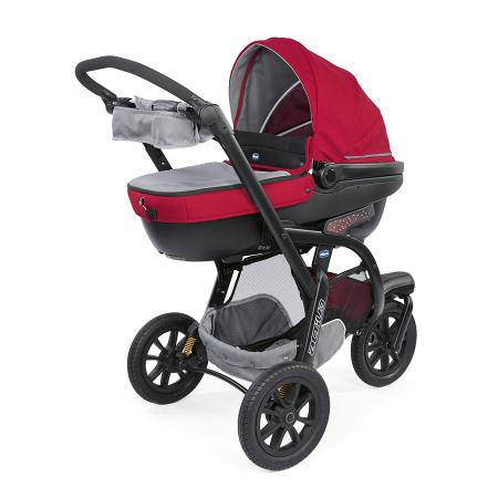 Коляска 3-в-1 Chicco Trio Activ3 (red berry) коляски 3 в 1 chicco trio activ3 3 в 1