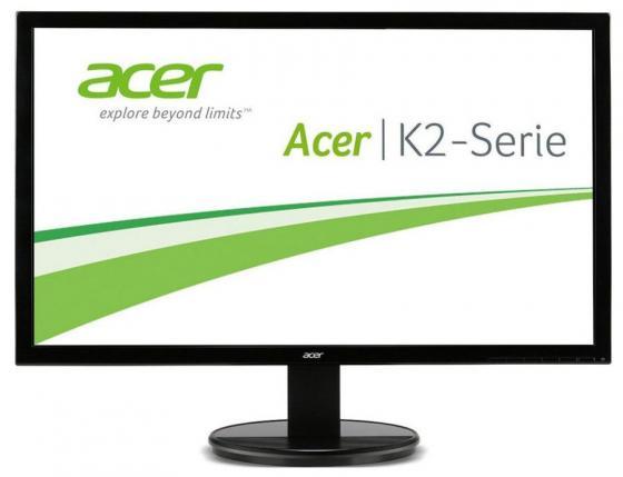 Монитор 24 Acer K242HQLBBID черный TN 1920x1080 300 cd/m^2 5 ms DVI HDMI VGA UM.UX6EE.B05 монитор 24 acer v246hlbd черный tn 1920x1080 250 cd m^2 5 ms dvi vga um fv6ee 001