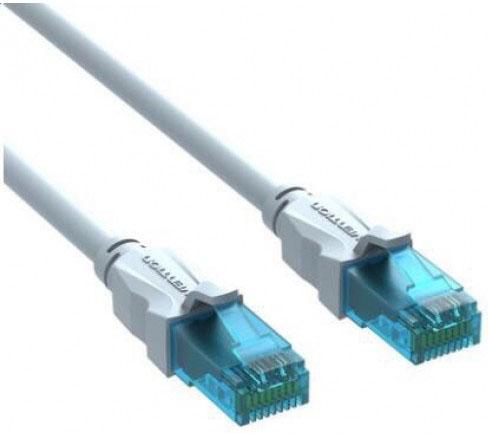 Патч-корд 5E категории UTP серый Vention 0,75м VAP-A10-S075 патч корд vention прямой utp cat 5е rj 45 1м серый vap a 10 s 100