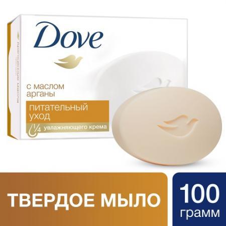 Мыло твердое Dove Драгоценные масла 100 гр 67083199 мыло твердое dove прикосновение свежести 100 гр 67045174