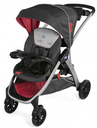 Прогулочная коляска Chicco Stroll'in'2 (lava) коляска 2 в 1 chicco trio stylego red passion