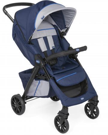 Прогулочная коляска Chicco Kwik.One (blueprint) коляска прогулочная chicco active3 цвет grey